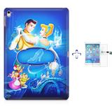 "Kit Capa Case TPU iPad Pro 9,7"" - Cinderella + Película de Vidro (BD01) - Skin t18"