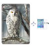 "Kit Capa Case TPU iPad Pro 9,7"" - Coruja + Película de Vidro (BD02) - Bd cases"