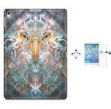 "Kit Capa Case TPU iPad Pro 9,7"" - Eagle Eye + Película de Vidro (BD01) - Bd cases"