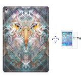 "Kit Capa Case TPU iPad Pro 9,7"" - Eagle Eye + Película de Vidro (BD01) - Skin t18"