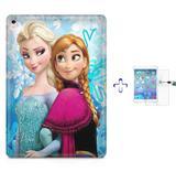 "Kit Capa Case TPU iPad Pro 9,7"" - Frozen + Película de Vidro (BD01) - Bd cases"