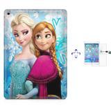"Kit Capa Case TPU iPad Pro 9,7"" - Frozen + Película de Vidro (BD01) - Skin t18"