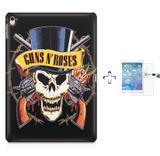 """Kit Capa Case TPU iPad Pro 9,7"""" - Guns nRoses + Película de Vidro (BD01) - Skin t18"""