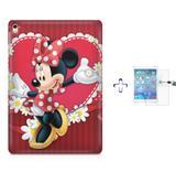 """Kit Capa Case TPU iPad Pro 9,7"""" - Minnie + Película de Vidro (BD01) - Skin t18"""