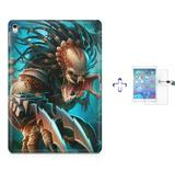 "Kit Capa Case TPU iPad Pro 9,7"" - Predador + Película de Vidro (BD01) - Skin t18"
