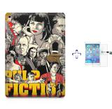 "Kit Capa Case TPU iPad Pro 9,7"" - Pulp Fiction + Película de Vidro (BD01) - Bd cases"