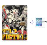 "Kit Capa Case TPU iPad Pro 9,7"" - Pulp Fiction + Película de Vidro (BD01) - Skin t18"