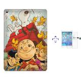 "Kit Capa Case TPU iPad Pro 9,7"" - Snoopy + Película de Vidro (BD01) - Skin t18"