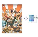 "Kit Capa Case TPU iPad Pro 9,7"" - Street Fighter + Película de Vidro (BD01) - Bd cases"