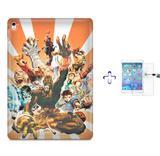 "Kit Capa Case TPU iPad Pro 9,7"" - Street Fighter + Película de Vidro (BD01) - Skin t18"
