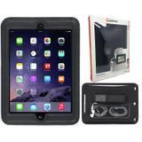 """Kit Capa com suporte para carros iPad 6 Tablet New iPad 9,7"""" - A1822 A1823 + Pel Vidro - Bd cases"""