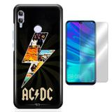 Kit Capa Huawei Honor 10 Lite ACDC e Pelicula - Bd cases