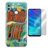 Kit Capa Huawei Honor 10 Lite Adventure TIme e Pelicula - Bd cases