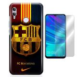 Kit Capa Huawei Honor 10 Lite Barcelona e Pelicula - Bd cases