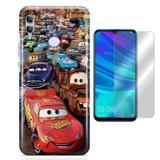 Kit Capa Huawei Honor 10 Lite Cars e Pelicula - Bd cases