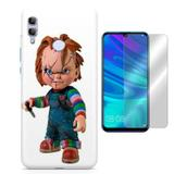 Kit Capa Huawei Honor 10 Lite Chucky e Pelicula - Bd cases