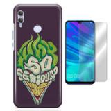Kit Capa Huawei Honor 10 Lite Coringa e Pelicula - Bd cases