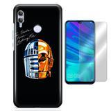 Kit Capa Huawei Honor 10 Lite Daft Star Wars e Película - Bd cases