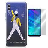 Kit Capa Huawei Honor 10 Lite Freedie Mercury e Película - Bd cases