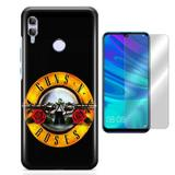 Kit Capa Huawei Honor 10 Lite Guns n Roses e Película - Bd cases