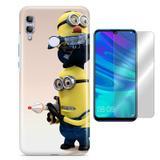 Kit Capa Huawei Honor 10 Lite Minions e Película - Bd cases