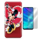 Kit Capa Huawei Honor 10 Lite Minnie e Película - Bd cases