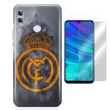 Kit Capa Huawei Honor 10 Lite Real Madride Película - Bd cases