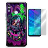 Kit Capa Huawei Honor 10 Lite Rick and Morty e Película - Bd cases