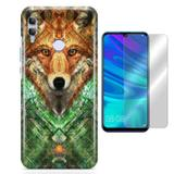 Kit Capa Huawei Honor 10 Lite Wolf e Película - Bd cases