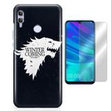 Kit Capa Huawei Honor 8X Game of Thrones e Pelicula - Bd cases