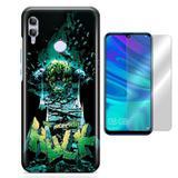 Kit Capa Huawei Honor 8X Hulk e Pelicula - Bd cases