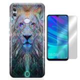 Kit Capa Huawei Honor 8X Lion e Pelicula - Bd cases