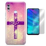 Kit Capa Huawei Honor 8X Religioso e Pelicula - Bd cases