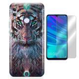 Kit Capa Huawei Honor 8X Wolf e Pelicula - Bd cases