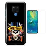 Kit Capa Huawei Mate 20 Guns n Roses e Película - Bd cases