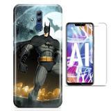 Kit Capa Huawei Mate 20 Lite Batman e Pelicula - Bd cases