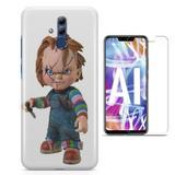 Kit Capa Huawei Mate 20 Lite Chucky e Pelicula - Bd cases