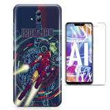 Kit Capa Huawei Mate 20 Lite Iron Man e Pelicula - Bd cases