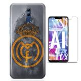 Kit Capa Huawei Mate 20 Lite Real Madrid e Pelicula - Bd cases