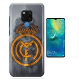 Kit Capa Huawei Mate 20 Real Madrid e Película - Bd cases