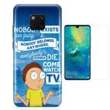 Kit Capa Huawei Mate 20 Rick Morty e Película - Bd cases