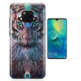Kit Capa Huawei Mate 20 Wolf e Película - Bd cases