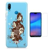 Kit Capa Huawei P20 Lite Beatles e Pelicula - Bd cases