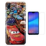 Kit Capa Huawei P20 Lite Carros e Película - Bd cases