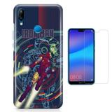 Kit Capa Huawei P20 Lite Iron Man e Película - Bd cases
