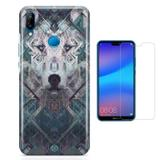 Kit Capa Huawei P20 Lite Moonwolf e Película - Bd cases