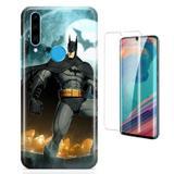 Kit Capa Huawei P30 Lite Batman e Pelicula - Bd cases