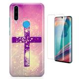 Kit Capa Huawei P30 Lite Cruz e Pelicula - Bd cases