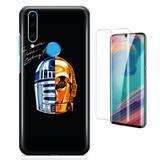 Kit Capa Huawei P30 Lite Daft Punk e Pelicula - Bd cases