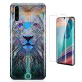 Kit Capa Huawei P30 Lite Lion e Pelicula - Bd cases